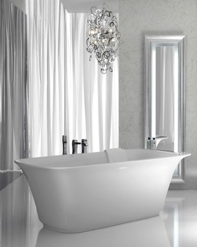 I would love to create my own private bath with a huge floating decorating with the chandelette the mini chandelier aloadofball Gallery