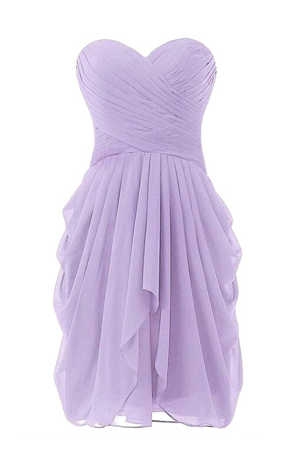 Dressy new star womenus chiffon bridesmaid dress short homecoming