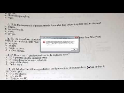 Chapter 8 Biology Test - Bing video | AP Biology | Biology test, Ap