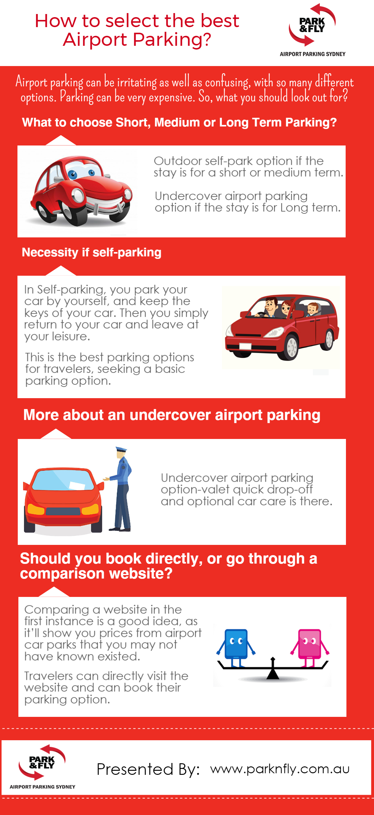 Airport Parking Can Be Irritating As Well As Confusing With So Many