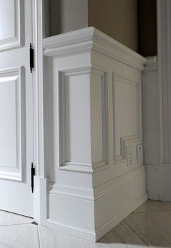 Image Result For What Trim To Buy For Wainscoting
