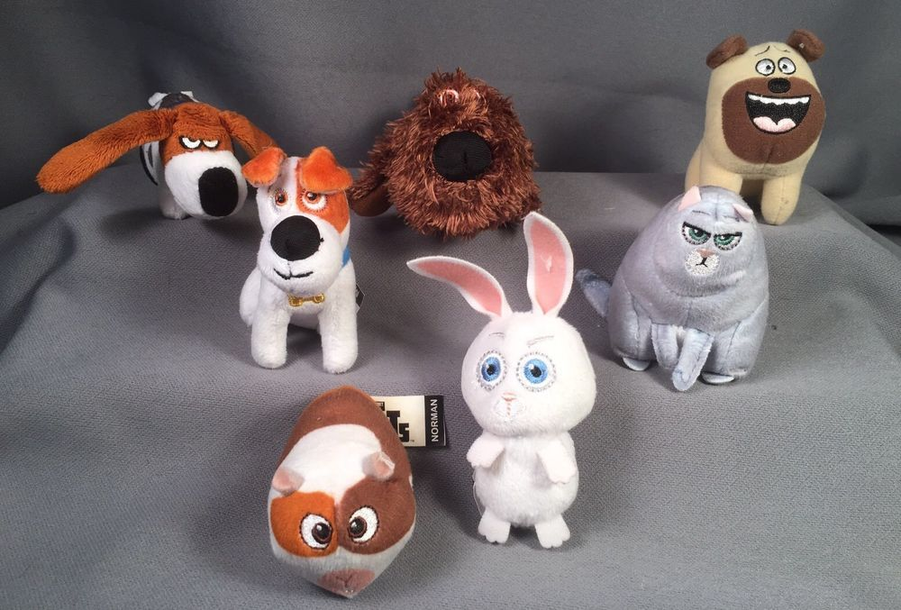 7 Secret Life Of Pets Mcdonald S Happy Meal Toys Mcdonalds Happy Meal Mcdonalds Happy Meal Toys Happy Meal