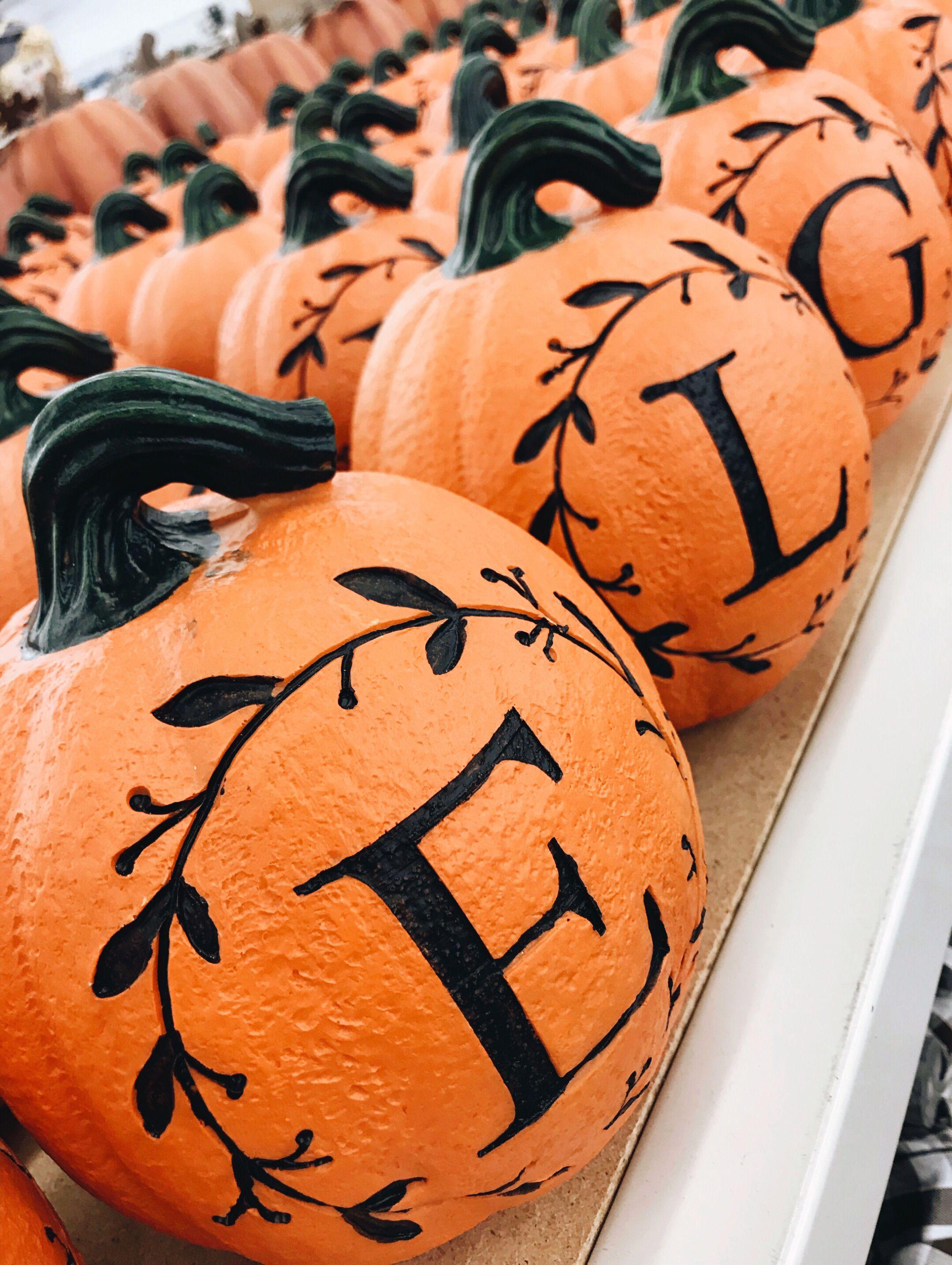 21++ How to make a monogram pumpkin trends