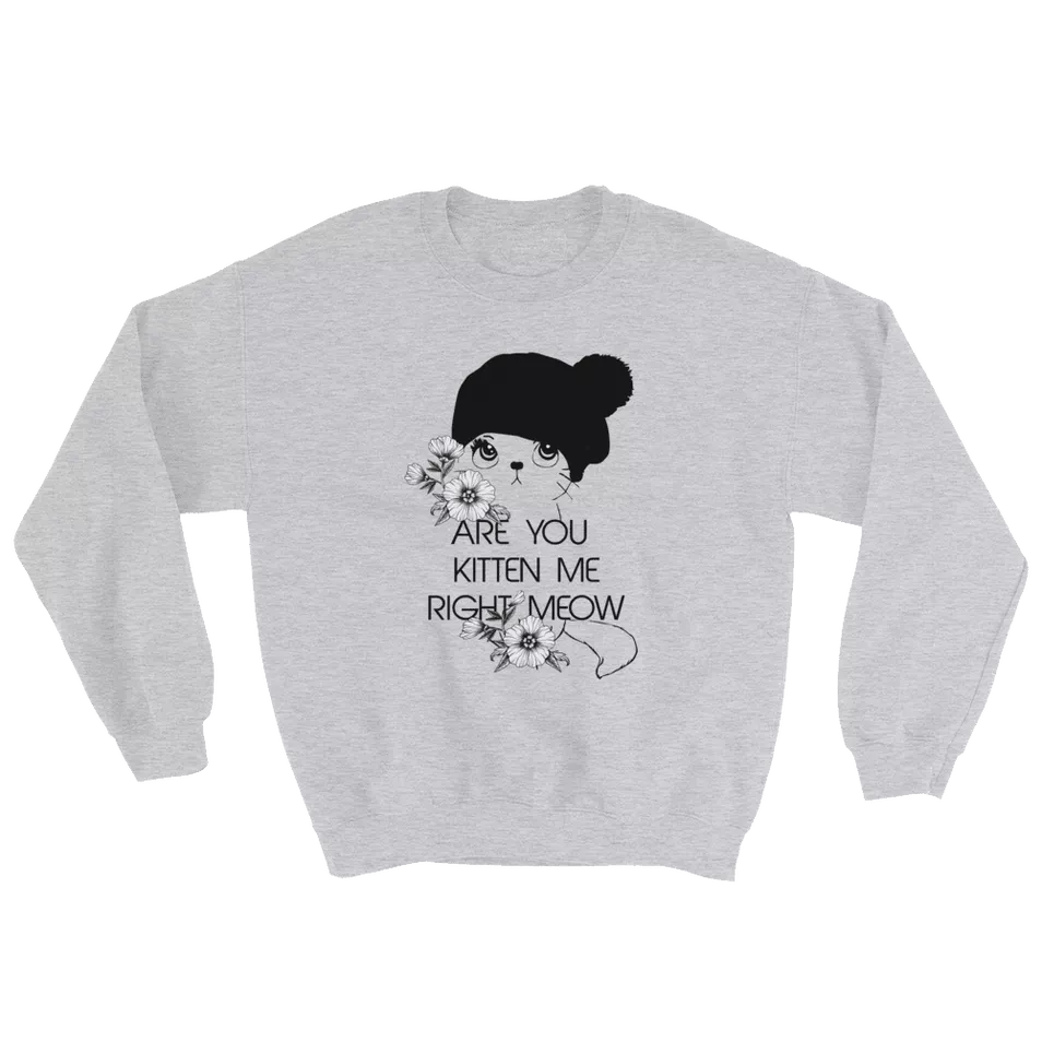You Ve Got To Be Kitten Me Right Meow Funny Cat Sweater Iamgonegirl Designs Funny Cat Sweater Cat Shirts Funny Cat Sweaters