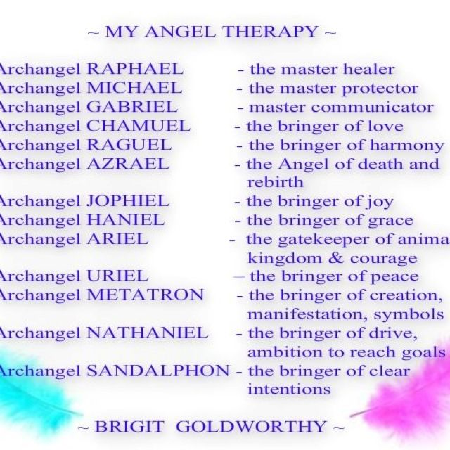 angel therapy #archangels #doreenvirtue www facebook com