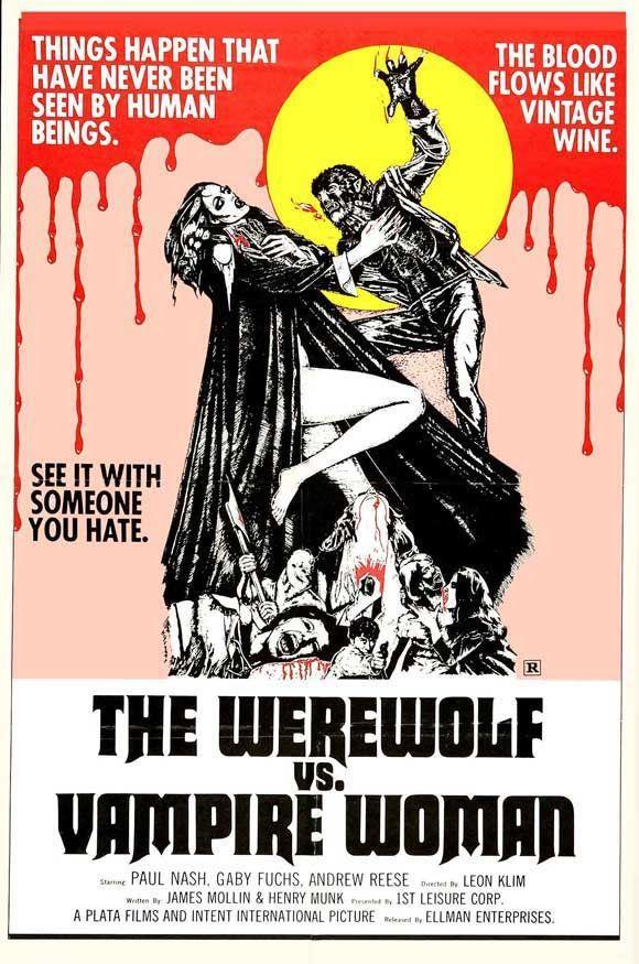 The Werewolf Versus Vampire Women 11x17 Movie Poster (1971)