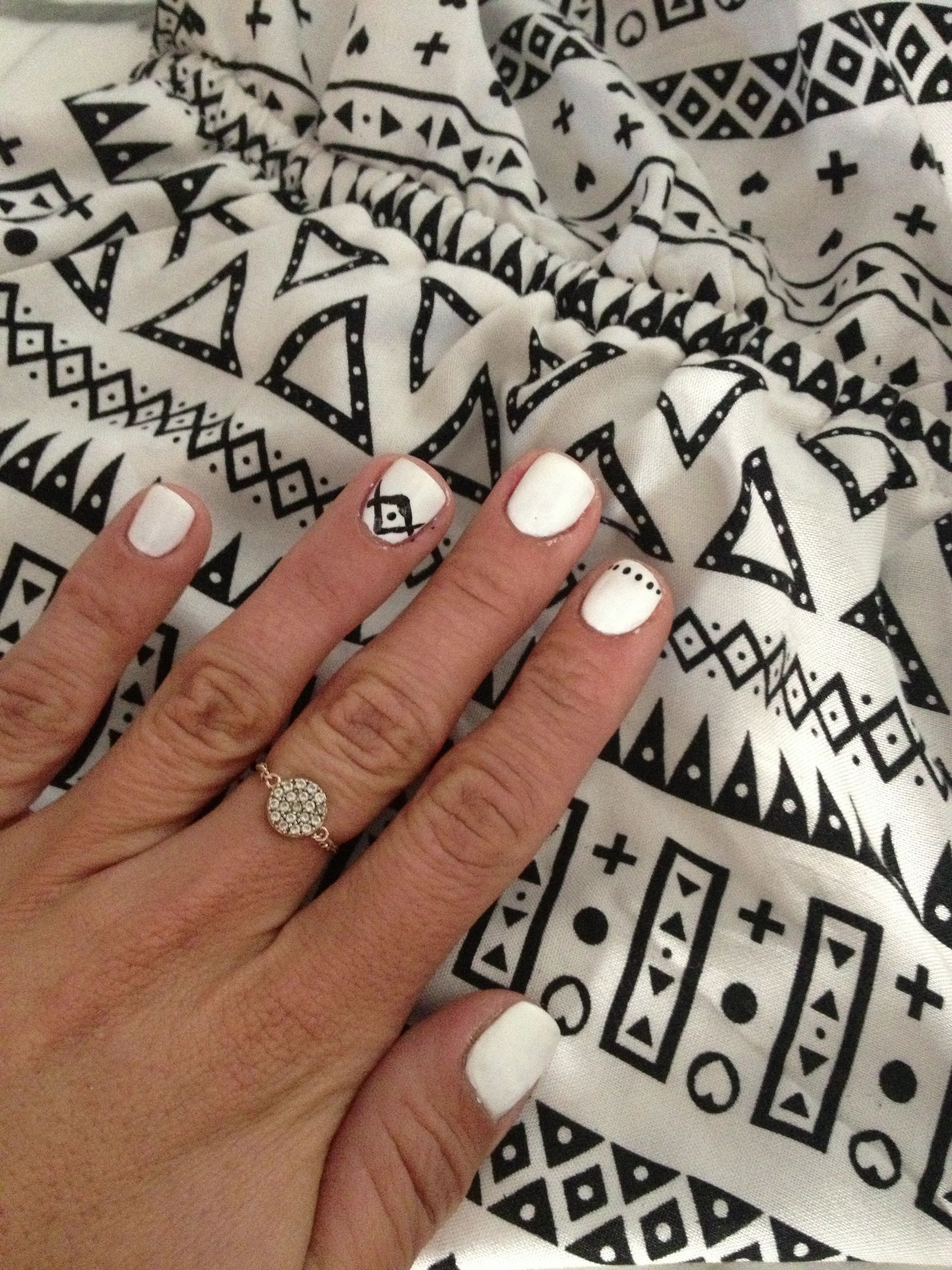 Nailart Inspiration From An Hm Jumper Opiproducts Alpine Snow