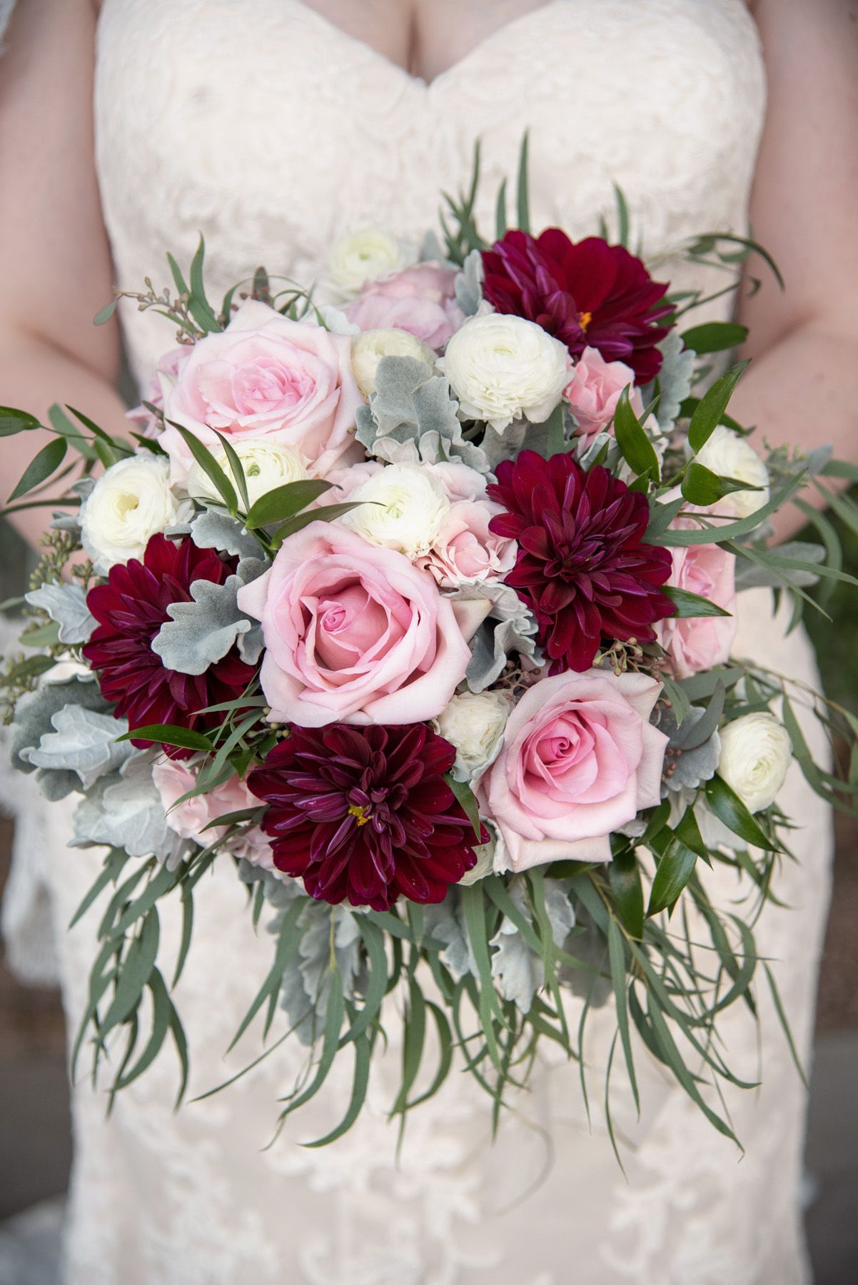Vintage Inspired Wedding Bouquets With Natural Tones And Blush