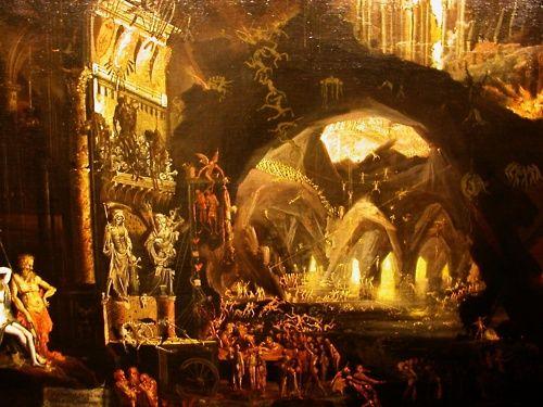 Francois de Nomé -Hell (Les Enfers)- 1622