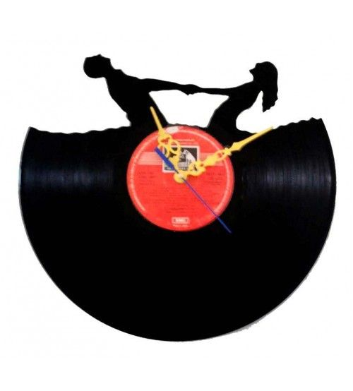 Couple Wall Clock Sale And Coupon Codes Clock Gramophone Record