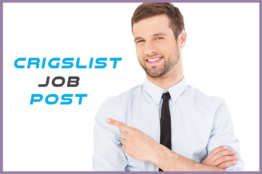 cragslist job post Job posting, Job, Post