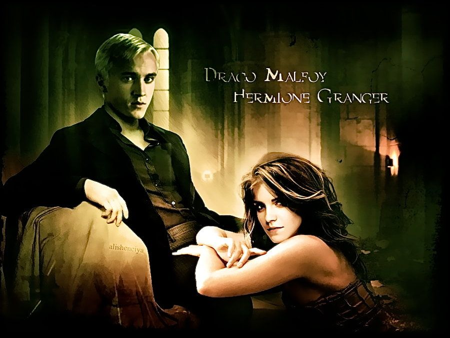 Dramione By Augustarapotter On Deviantart Dramione Hermione Granger Fanart Draco And Hermione