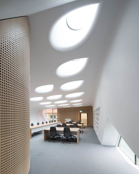 The Investcorp Building for Oxford Universitys Middle East Centre at St Antonys College, Oxford, 2015 - Zaha Hadid Architects