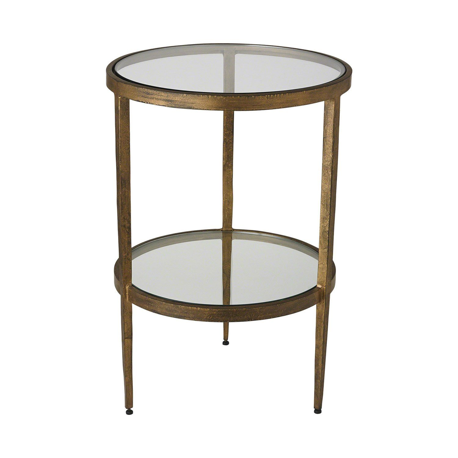 Studio A Laforge Two Tiered Side Table Side Table Modern End Tables End Tables