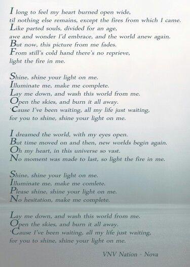 vnv nation standing lyrics meaning