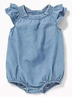 cd4fec8c9ad Printed Linen-Blend Jumpsuit for Baby