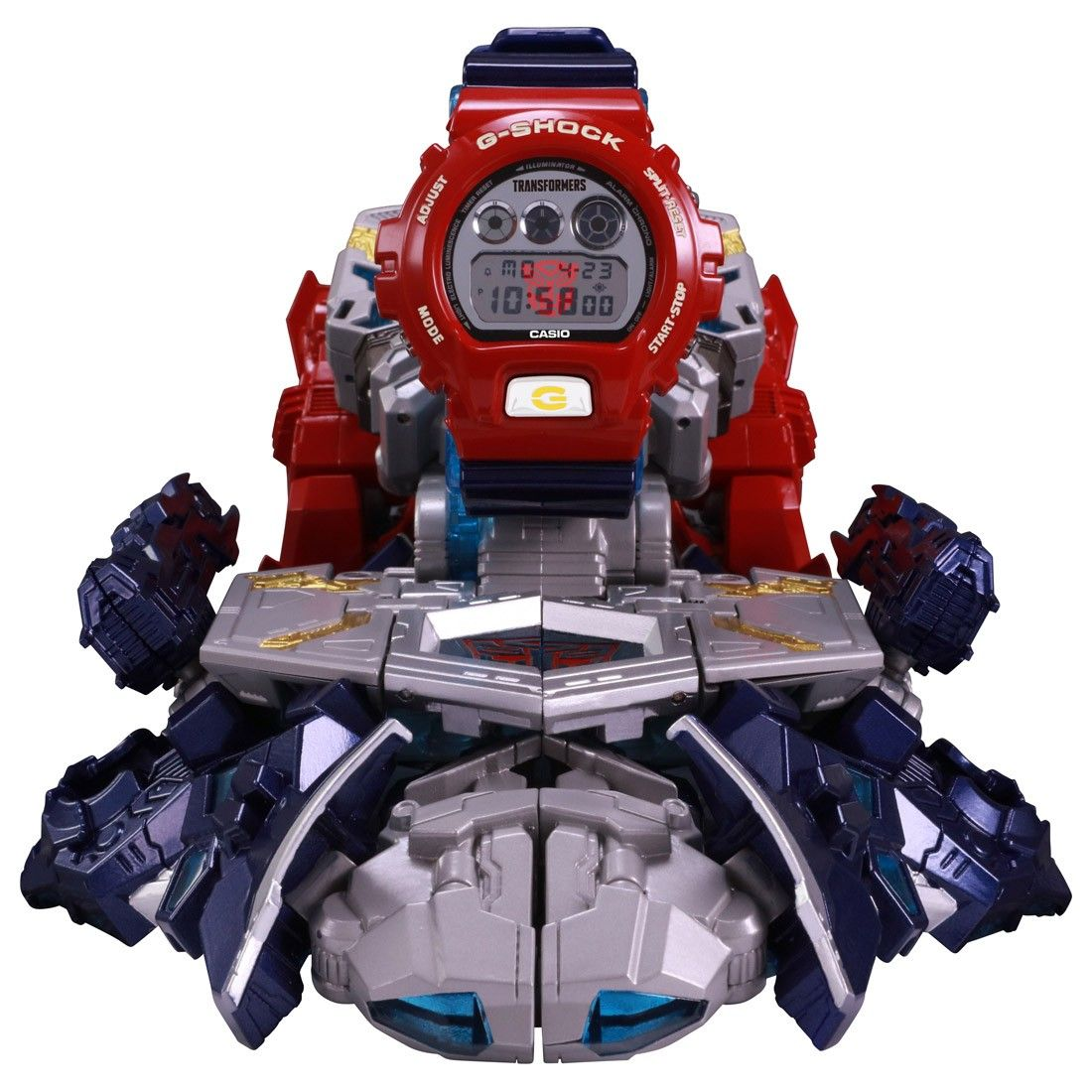 Takara G-SHOCK x Transformers Master Optimus Prime Action Figure Model KO Toy