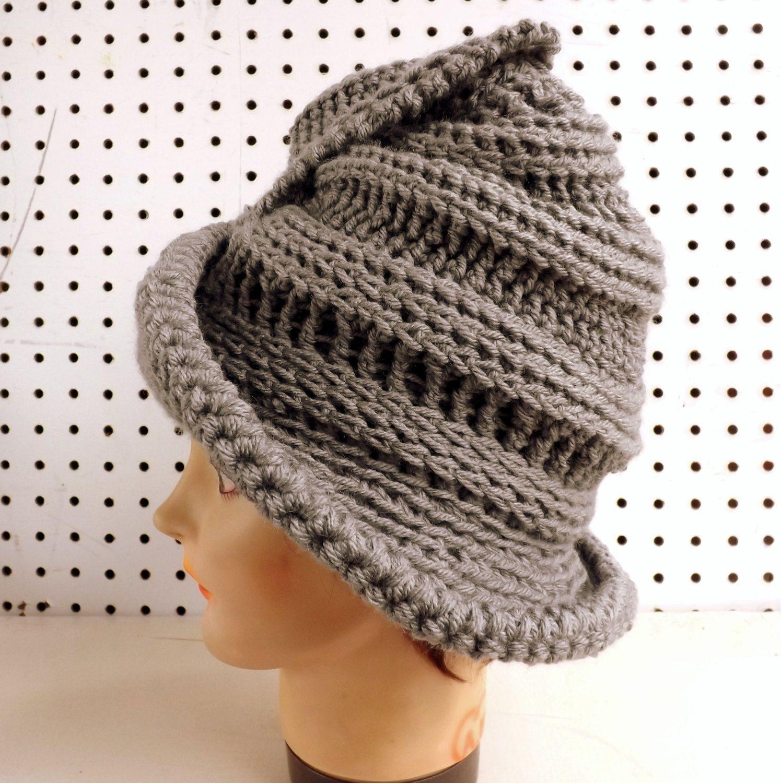 Crochet Hat for Women, Womens Hat Trendy, Crochet Floppy Hat ...