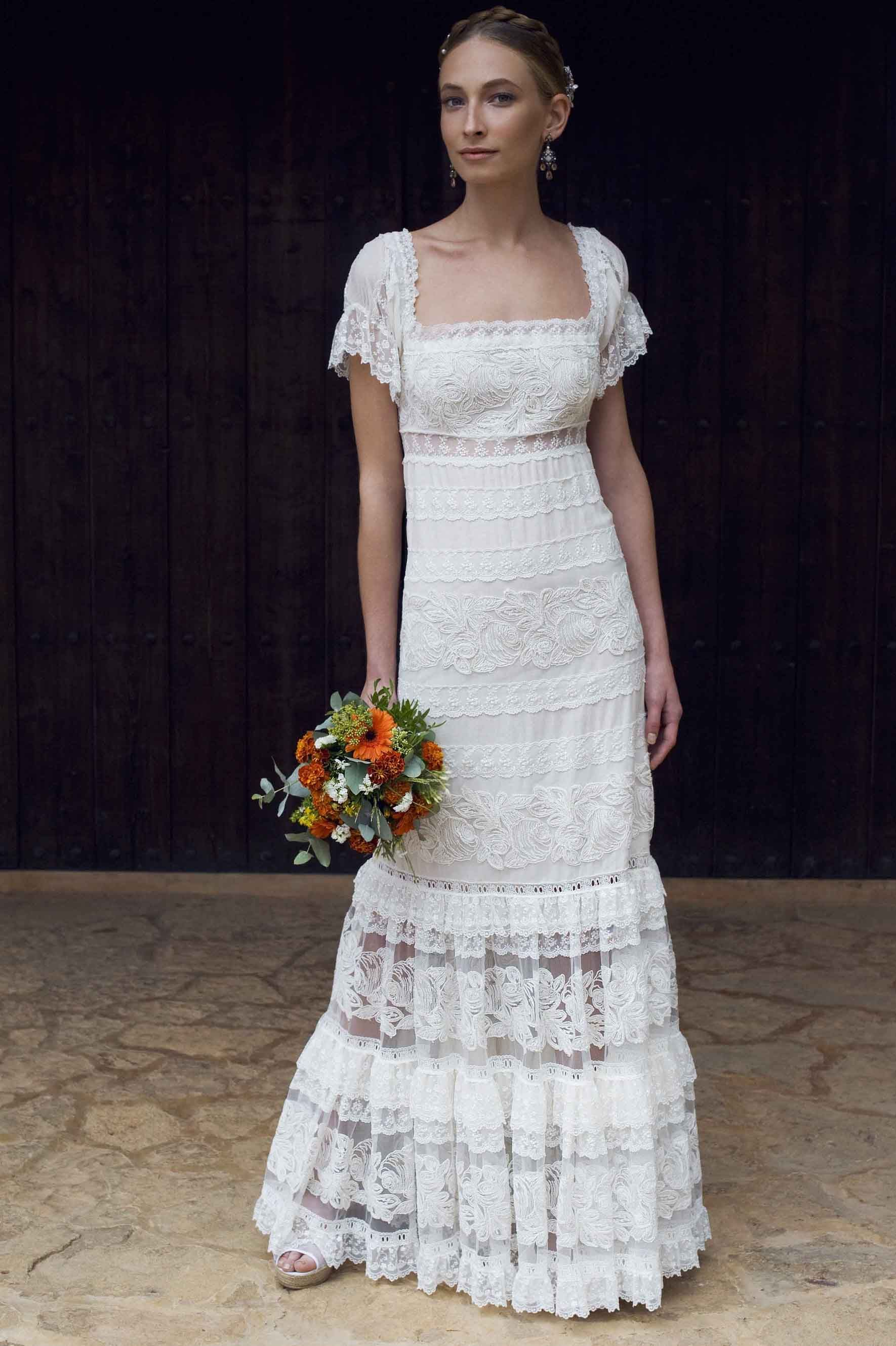 Vestidos de novia hippie ibiza