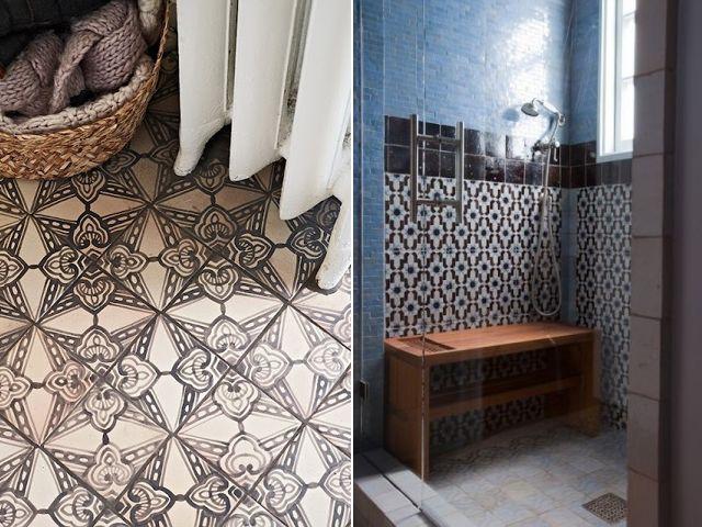Patroontegels Inspiratie Grafisch : Grafisch interieur dromen ideeën badkamer interieur en ideeën