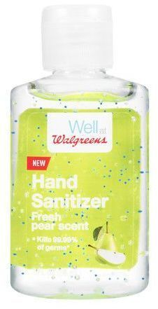Walgreens Hand Sanitizer Fresh Pear Hand Sanitizer Sanitizer
