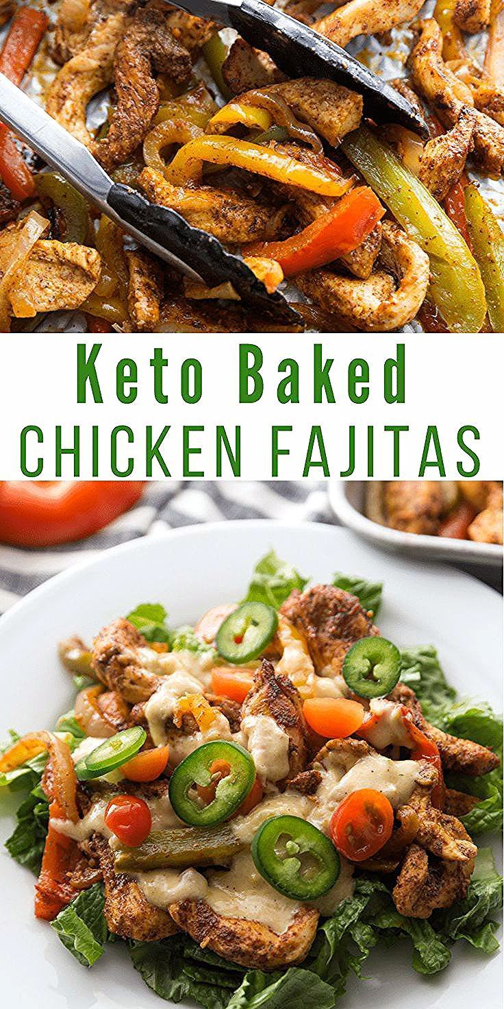Easy If you want a great meal that the kids will love look no further than our Keto Baked Chicken Fajitas These are so easy to make and absolutely delicious