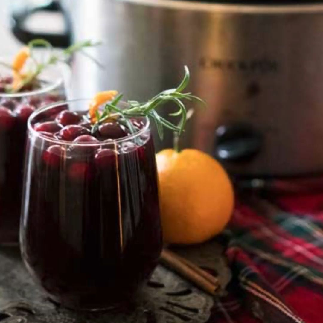 Easy mulled wine recipe you can make right in your crock pot! The perfect mulled wine for chilly winter nights!