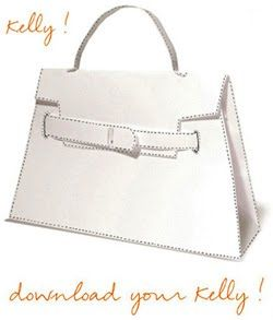 Hermes Kelly Bag Origami Paper Craft Free Download Make It Out Of 2 Sheets Of Card Stock And Customize To Make It Diy Paper Bag Kelly Bag Hermes Kelly Bag