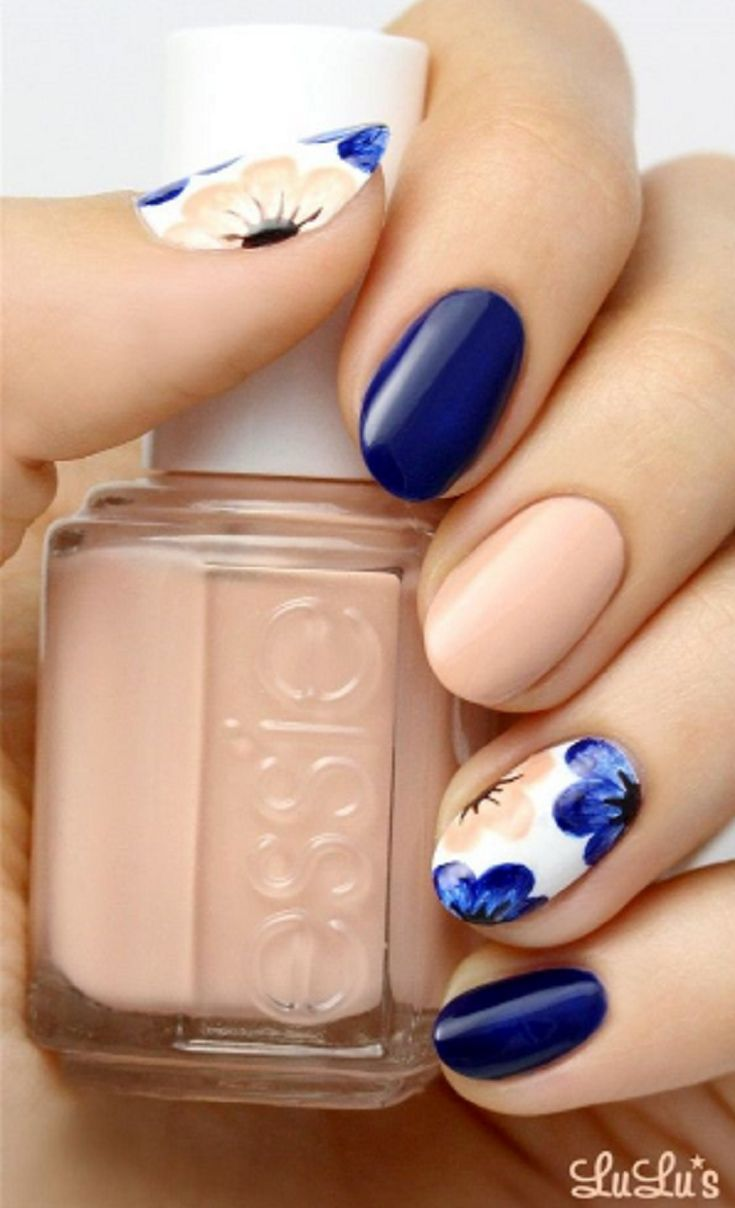 40 Colorful But Sober Nail Arts Perfect For Spring | Nail Envy ...