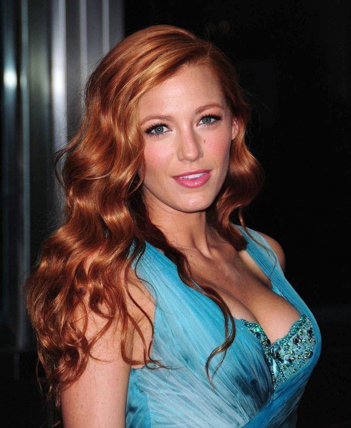 Blake Lively As A Ginger Trendy Hair Color Red Hair Color Blake Lively Hair