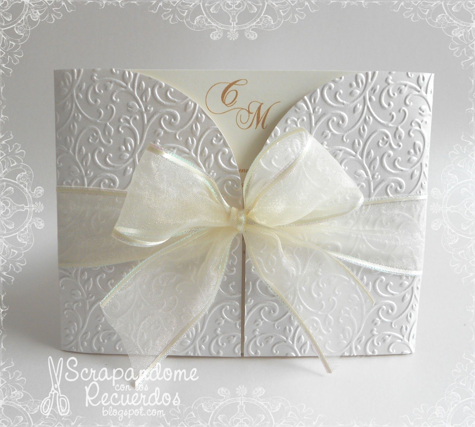 invitaciones de boda blancas - Buscar con Google | tarjetas ...
