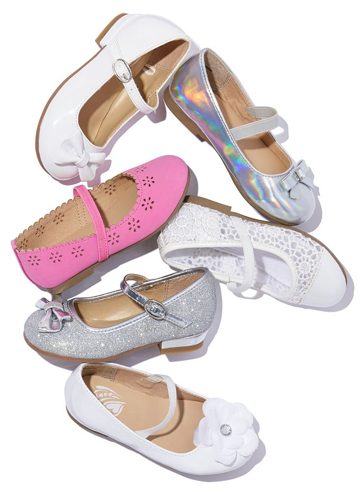 NWT The Childrens Place Toddler Girls Silver Glitter Butterfly Sandals Shoes