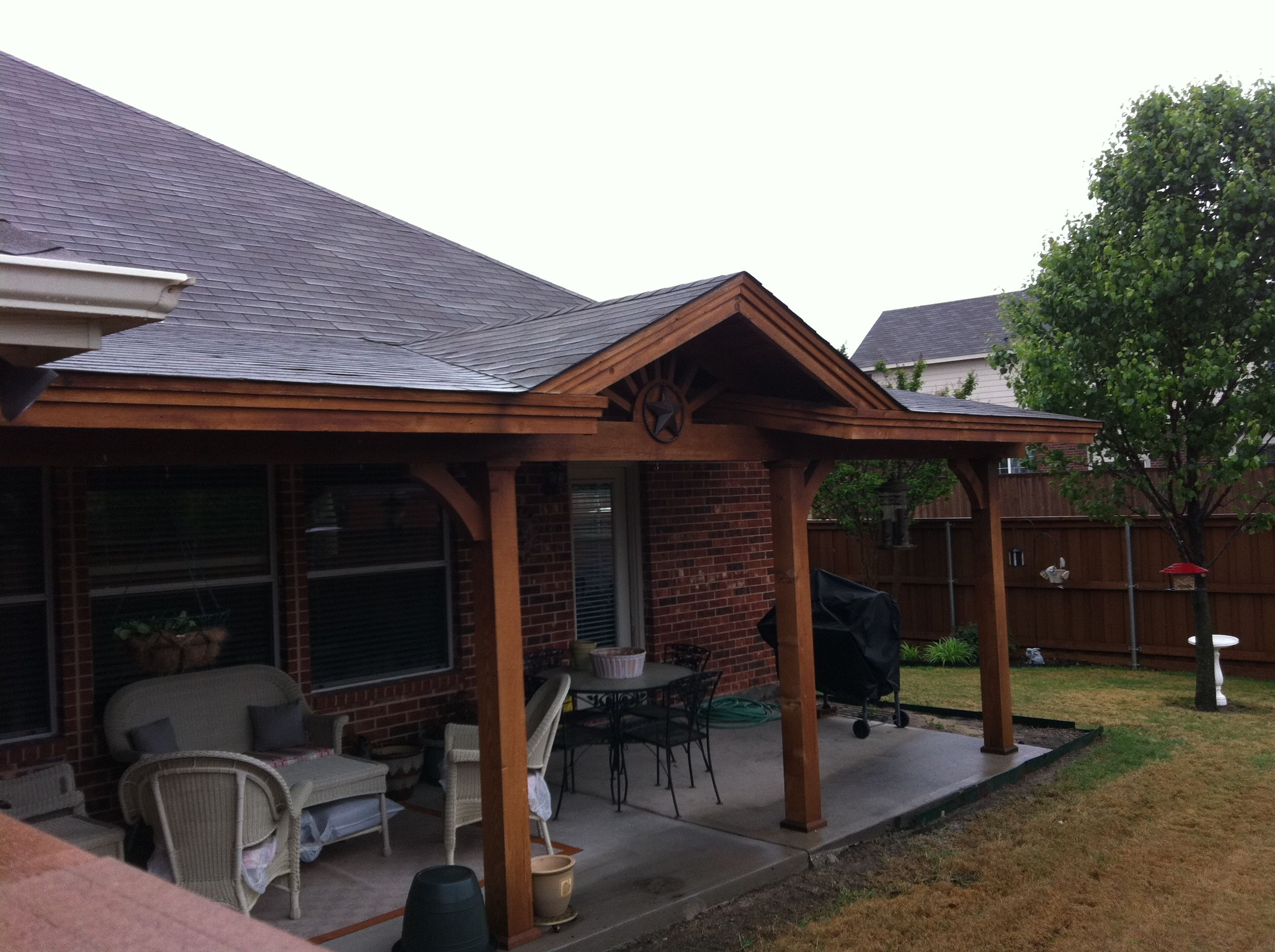 Mini Gable Patio Cover Patio Covers Pinterest
