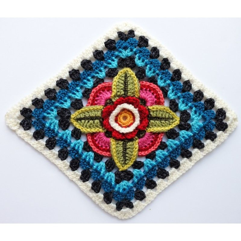 Mexican Diamonds Blanket kit by Jane Crowfoot using Stylecraft Life ...