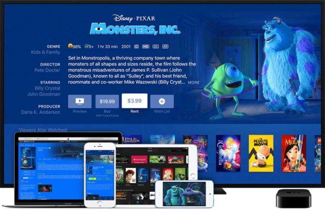 Image result for apple tv movie rentals