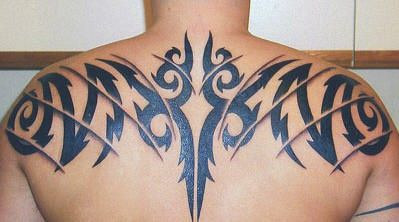 Black Tribal Upper Back Tattoo Tribal Tattoo Ideas 15 Tribal Tattoos Tribal Tattoos For Men Back Tattoos For Guys