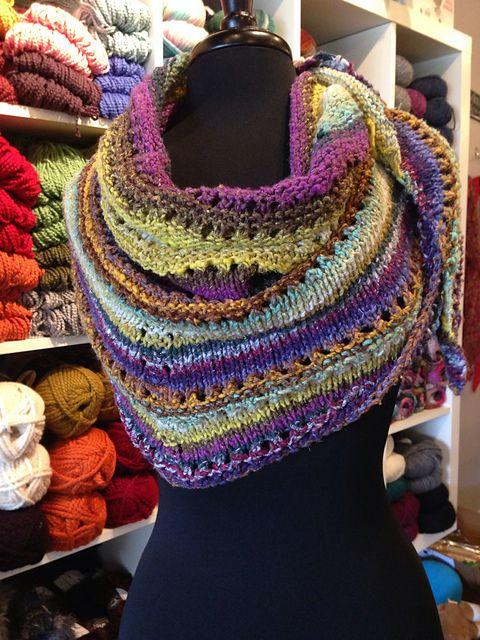 Azzu's Shawl By Emma Fassio - Free Knitted Pattern - (ravelry)