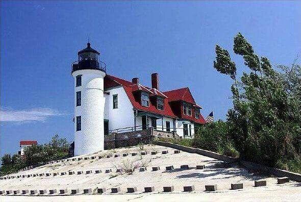 Point Betsie Lighthouse, Crystallia, Michigan - USA