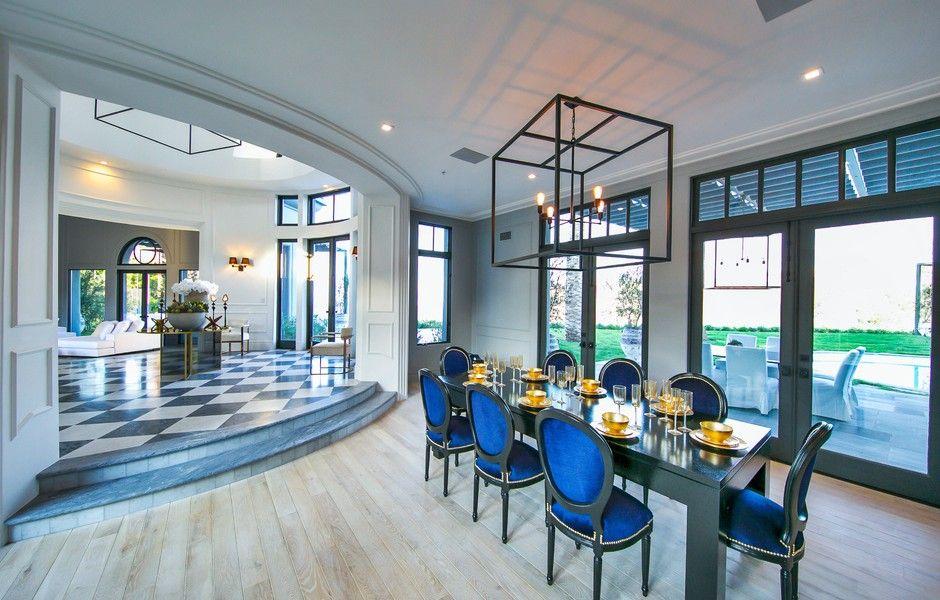Eleganter Einrichtungsstil Luxus Beverly Hills. 12055 summit ...