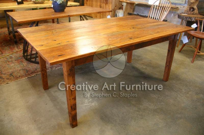 DT FARM TABLE Creative Art Furniture The Top Of This Rustic - Farm table needham