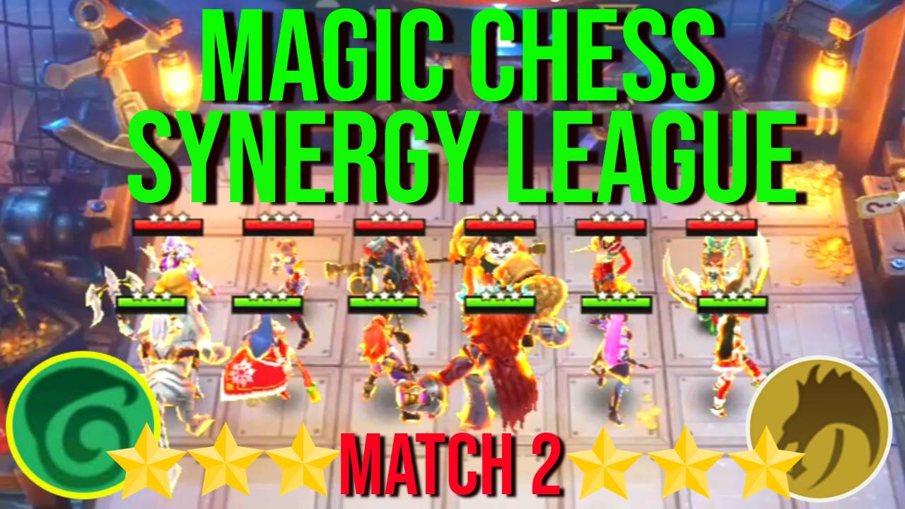 All 3 Star Elf Vs All 3 Star Altar Dragon Magic Chess Synergy League Best Synergy Magic Chess