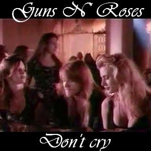 Acordes D Canciones: Guns N' Roses - Don't cry