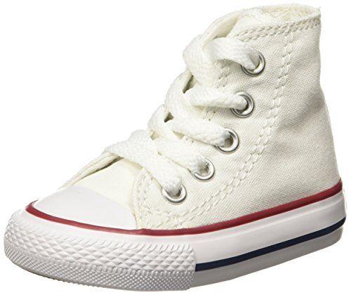 in Abbigliamento Sneakers Y per Converse tessuto bianco da bambini 23 ragazza 5qBT71wx