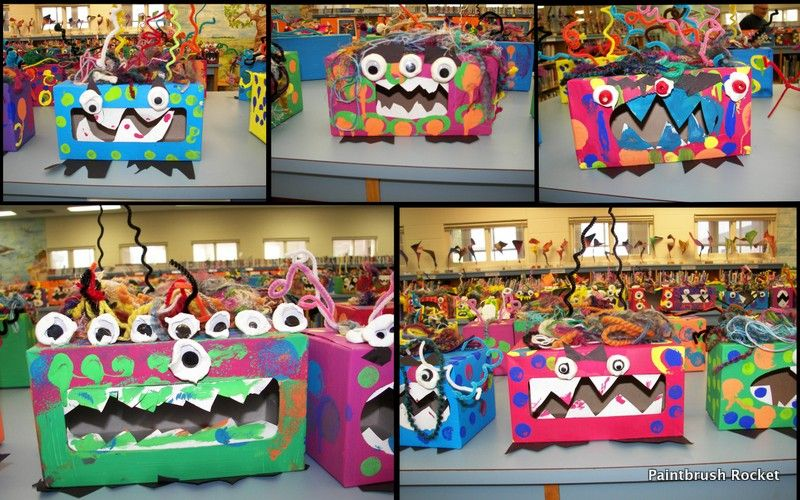 Monster Boxes from Paintbrush Rocket