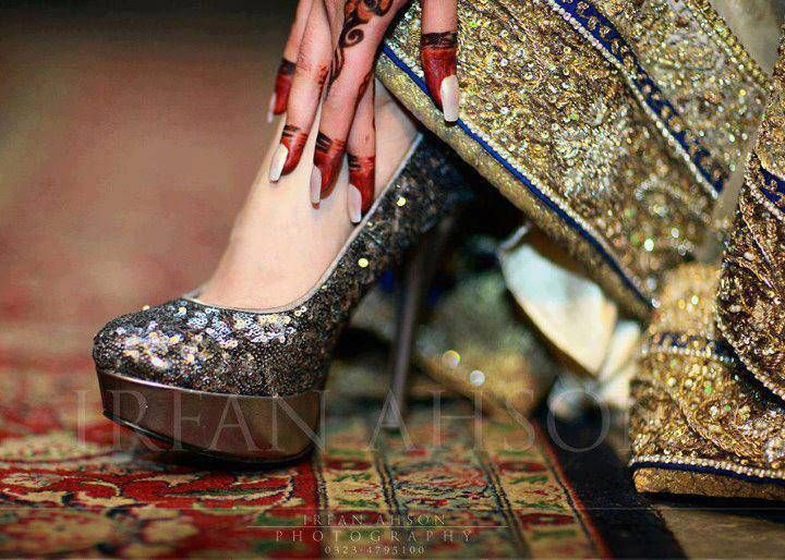 eba132361d3717 Stylish Eid Sandals Shoes Design for Girls (2). nice pumps Pakistani Bridal  ...