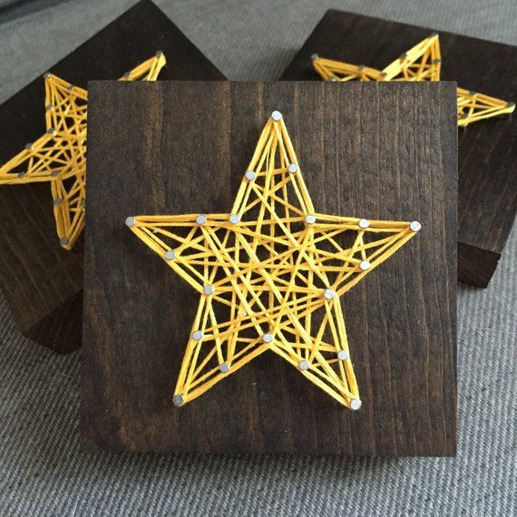 Items similar to ADD-ON SPECIAL! String Art Mini Star Sign on Etsy