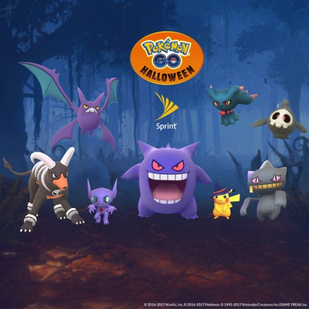Pokémon GO Halloween sweepstakes at Sprint offers chance to win ...