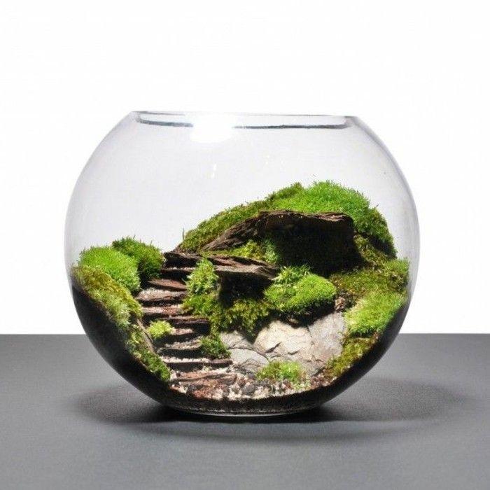 ber 40 vorschl ge wie sie ein terrarium selber bauen basteln mit naturmaterialien. Black Bedroom Furniture Sets. Home Design Ideas