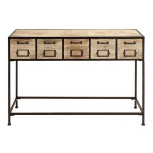 Woodland Imports Metal Wood Console Table Http Bench Forum