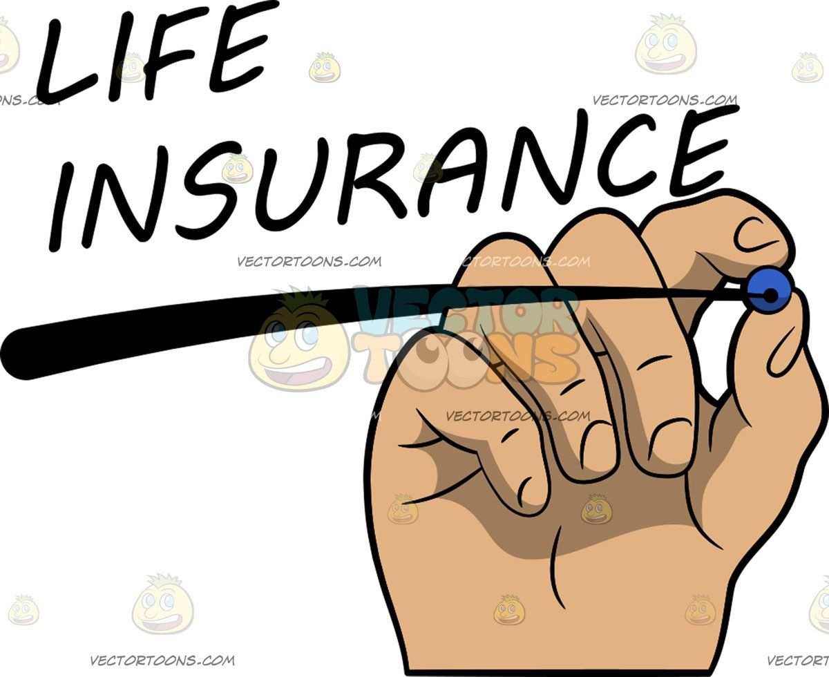 A Hand Underlining The Word Life Insurance Words Life Life